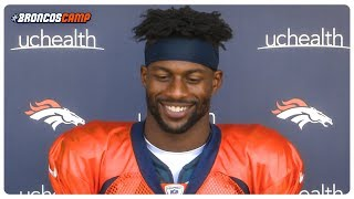 Emmanuel Sanders happy with play calling, direction of offense