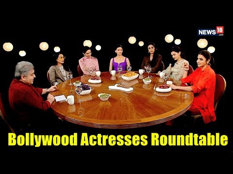 The Actresses Roundtable 2018 with Rajeev Masand | Bollywood Roundtable Actresses