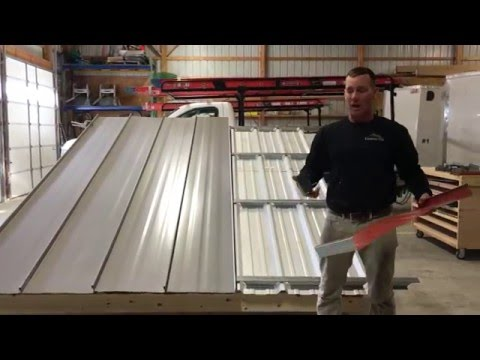 Metal Roof Repair - Metal Over Metal Using Roof Hugger