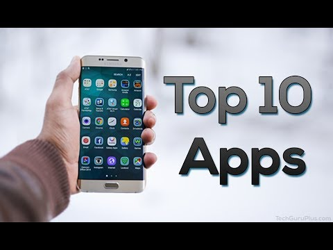 Top 10 Android Apps*#*افضل 10 برامج للاندرويد