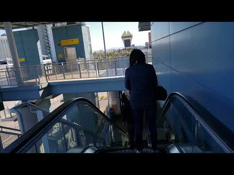Before You Ride The Las Vegas Monorail - Watch How To Buy A Ticket And Ride The Monorail