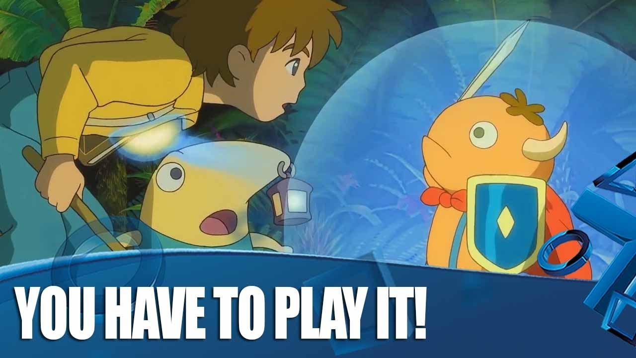 Ni no Kuni Remastered PS4 Gameplay - Warum Sie es einfach spielen müssen + video