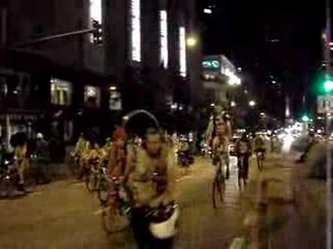 2007 world naked bike ride chicago