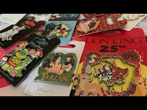 Walt Disney World Disney Trading Pins Haul June 2019| with prices and locations