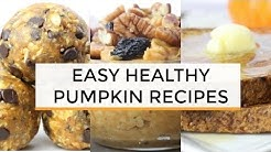 PUMPKIN RECIPES | 6 Easy Healthy Pumpkin BREAKFAST Recipes