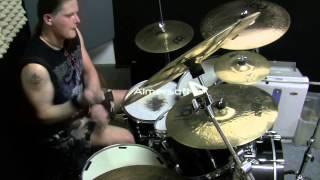 DevilDriver - Forgiveness Is A Six Gun (drum cover)
