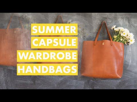 capsule wardrobe bags