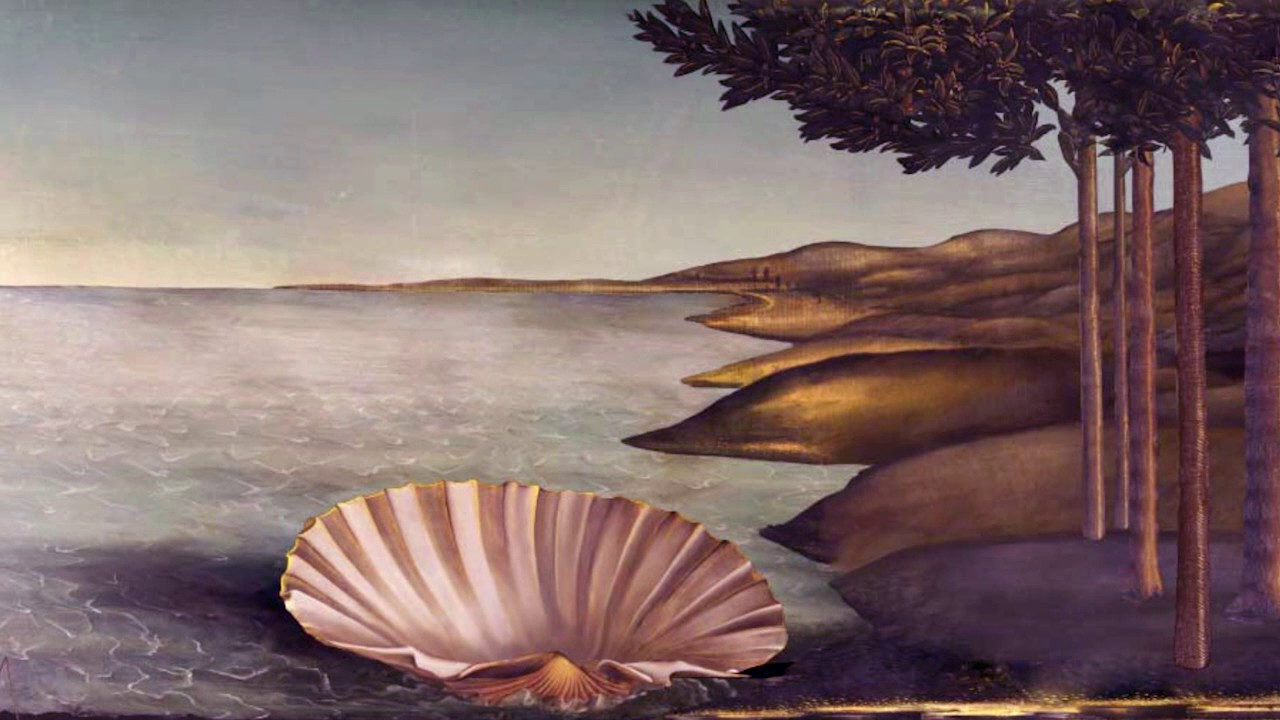 The birth of venus 3d animated background youtube the birth of venus 3d animated background voltagebd Choice Image