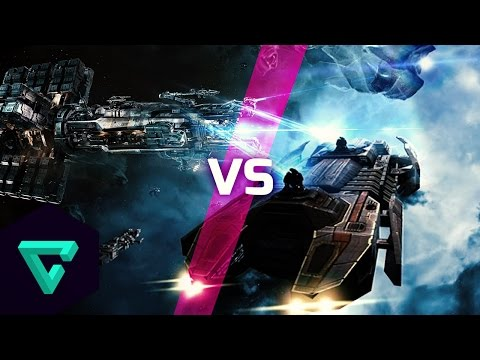 Star Citizen VS Eve Online : Mining Gameplay – Who Does It Best?