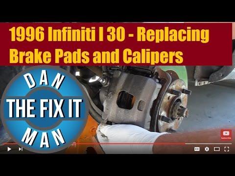 1996 Infiniti I 30 Brake Pads and Caliper replacement – DIY