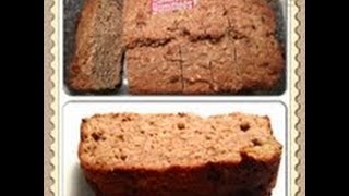Peanut Butter & Banana Oatmeal Bread Recipe! Super Filling Huge Slice! Weight Watcher Friendly!