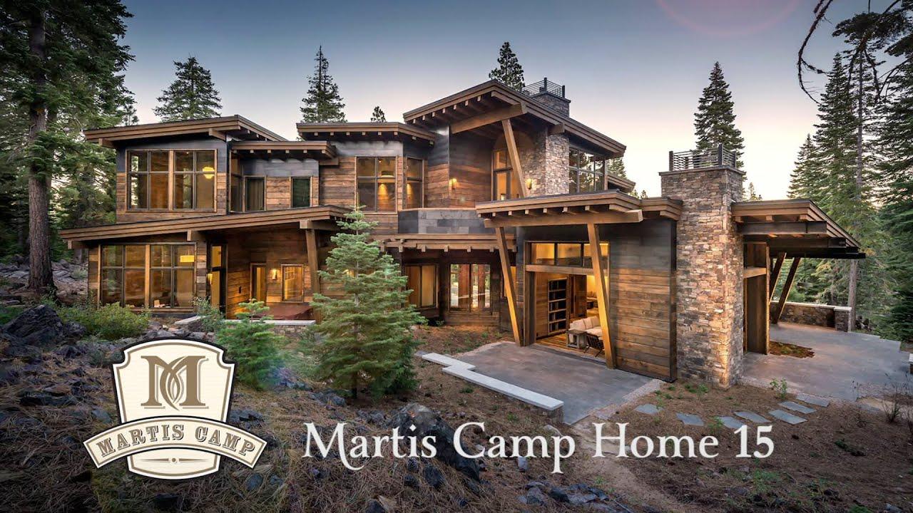 Martis camp custom home 15 sold youtube for Custom home builders wyoming