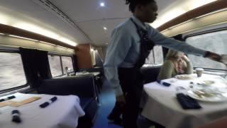 Amtrak Capitol Limited Sleeper Car, Diner, Observation Lounge Car