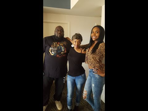 "Faizon Love and Raquel Lee on interview with Lady HrGlass Radio Show ""Grow House"""