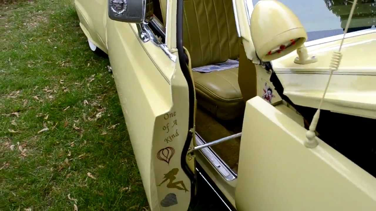 & CUSTOM 77 Cadillac Deville hydraulics+suicide doors! - YouTube pezcame.com