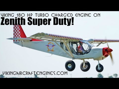 Viking Engines, Viking 180 HP Turbo Charged Honda Aircraft Engine Conversion