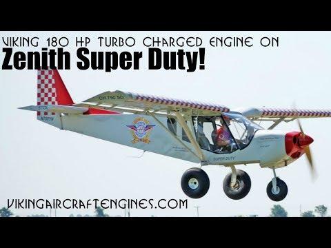 Viking Engines, Viking 180 HP Turbo Charged Honda Aircraft Engine Conversion