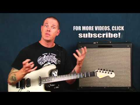 Learn Rock Blues inspired guitar songwriting and composition chord building and harmony with scales