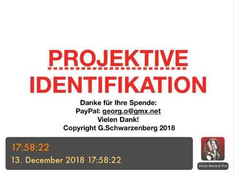 Psychotherapie Ausbildung Projektive Identifikation Youtube