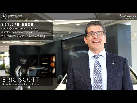 Eric Scott | Mercedes-Benz New Vehicles | Euromotorcars in Bethesda, MD