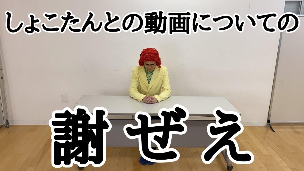 中川翔子さんとのコラボ動画についての謝罪