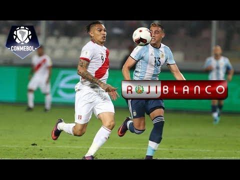 Perú 2 - Argentina 2   Eliminatorias Rusia 2018