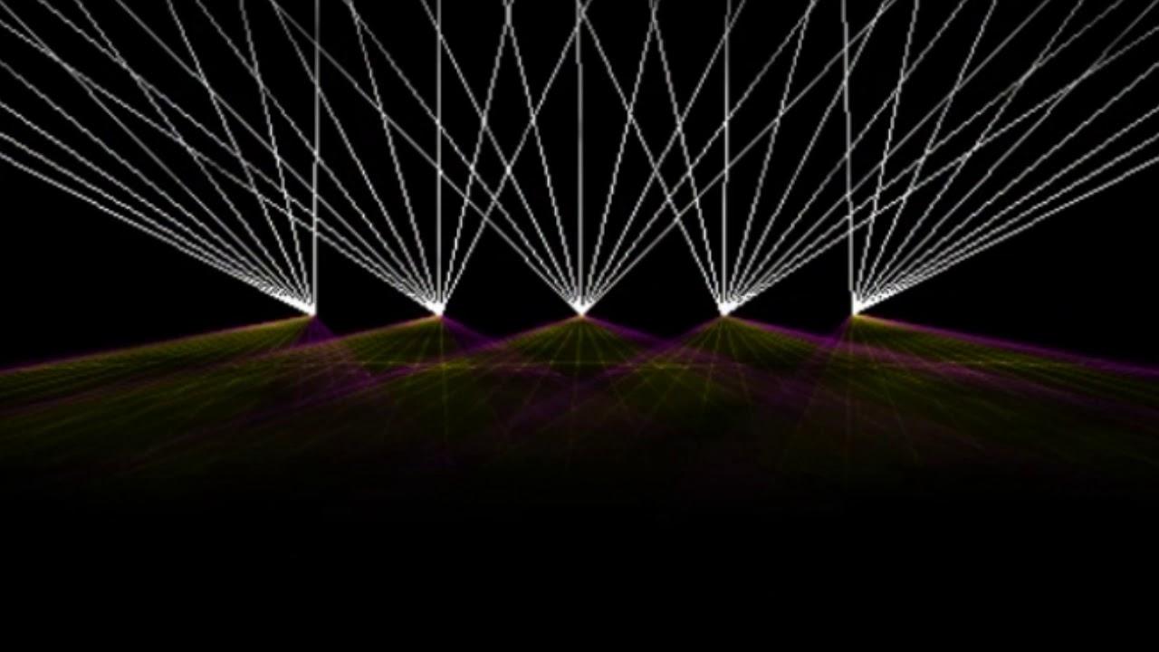 Show yhdellä laserilla?
