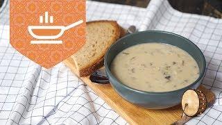 Kremalı Mantar Çorbası Nasıl Yapılır | Çorba Tarifleri