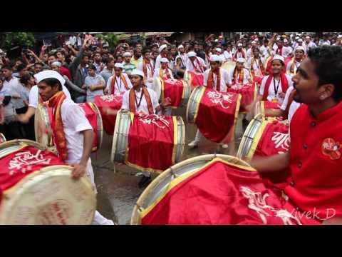 Parleswar Dhol Tasha pathak, Fort cha Raja Aagman Parel - Lalbaugh by #Vivek_D