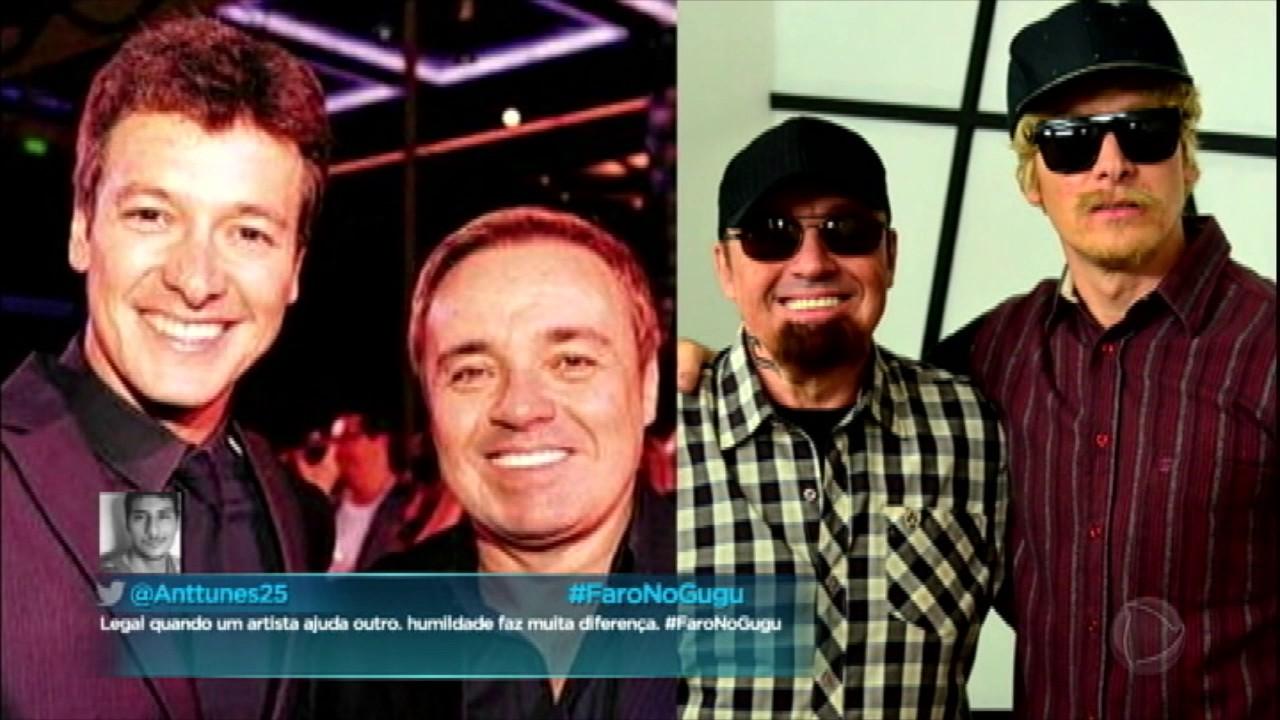 Em entrevista, Rodrigo Faro se emociona e agradece apoio de Gugu Liberato