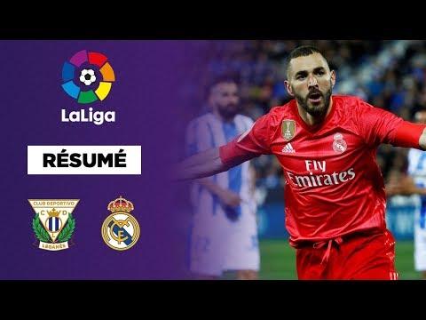 Résumé : Benzema, sauveur du Real Madrid contre Leganés !