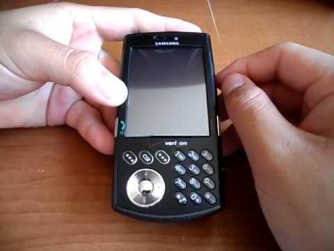 Review Re-Do Samsung SCH-i760 Verizon Wireless PDA/Smartphone