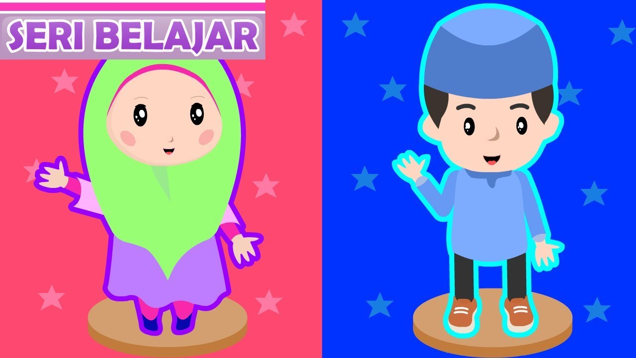 770+ Gambar Animasi Kartun Anak Islami HD Terbaik