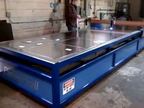 Duct Plasma Table At Hvac Fittings 1 2013 From Production