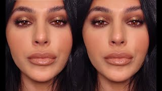 MAKEUP TUTORIAL: BRONZE SMOKEY EYE MAKEUP | Teni Panosian