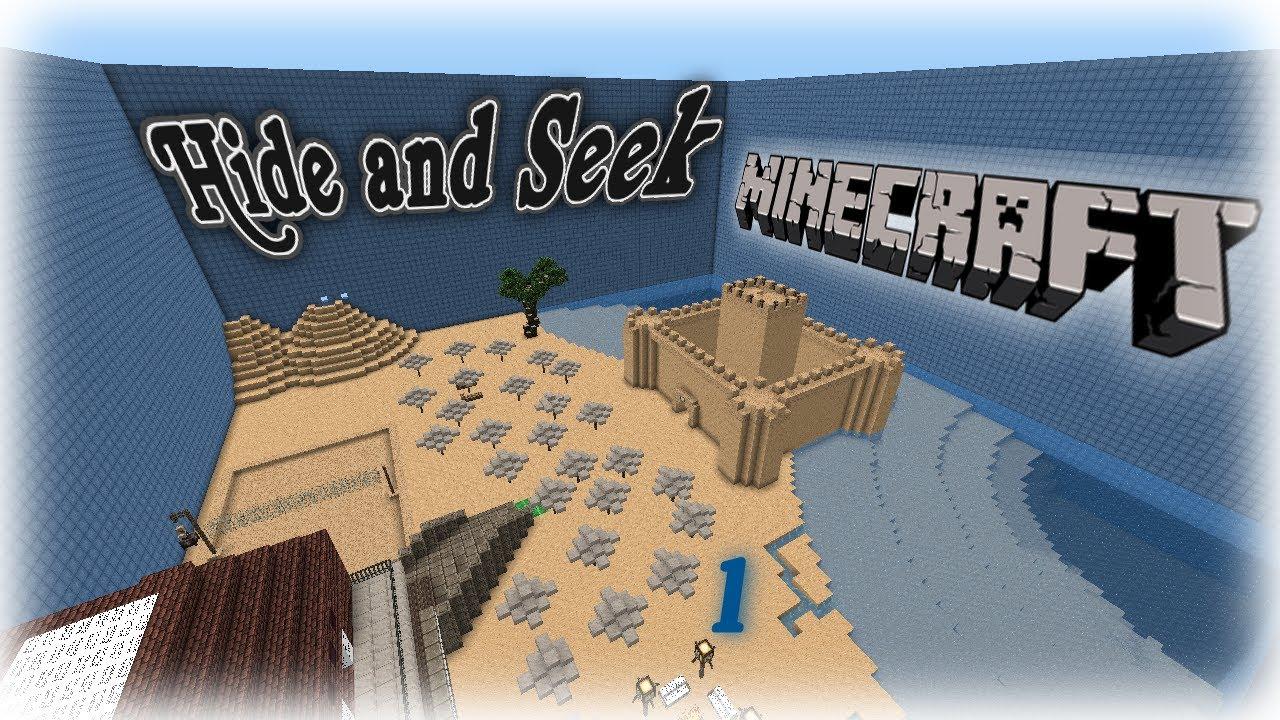 Hide And Seek Minecraft Map - DARARTESPHB