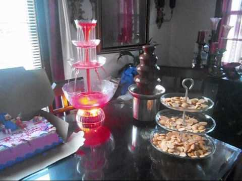 Nostalgia Chocolate and Punch Fountain & Nostalgia Chocolate and Punch Fountain - YouTube