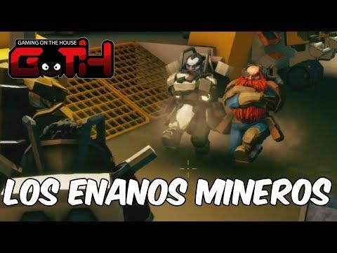 ENANOS MINEROS MUEREN EN LAMINA TENI CIDA! Deeprock Galactic en Español - GOTH