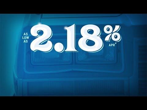 Super Low Rate! – 2.18% APR Auto Loans