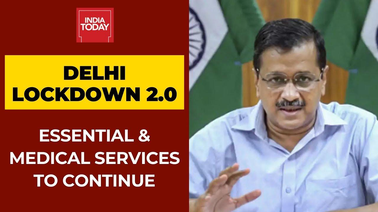 Coronavirus News: Complete Lockdown In Delhi Till April 26; Essential & Medical Services To Cont
