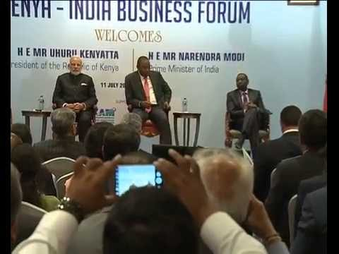 PM Modi at India-Kenya Business Forum, in Nairobi,  Kenya