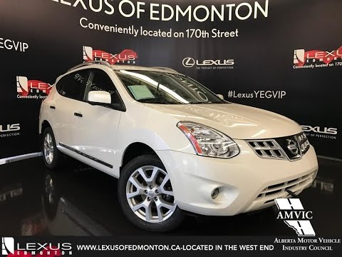 Used 2012 White Nissan Rogue AWD Walkaround Review | Grande Cache Alberta