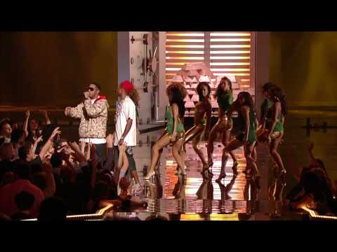 Pharell & Ludacris ft Pussycat Dolls  Money Maker    En Vivo