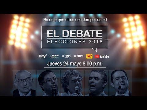 #ENVIVO EL DEBATE con los candidatos a la Presidencia de la República de Colombia | EL TIEMPO