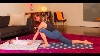 10 Minute Gentle Postnatal Yoga for Strength Building