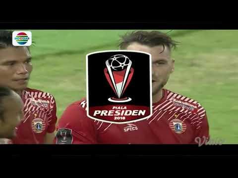 Final Piala Presiden 2018: Gol Tendangan Salto Marko Simic Persija Jakarta (2) vs Bali United FC (0)