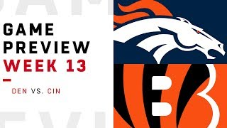 Denver Broncos vs. Cincinnati Bengals | Week 13 Game Preview | Pro Football Focus