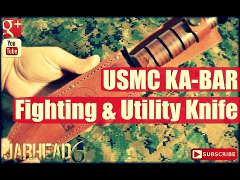 USMC KA-BAR Fighting & Utility Knife