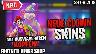 FORTNITE SHOP à partir de 23.9 - 🤡 CLOWN SKINS! 🛒 Fortnite Daily Item Shop Today (23 septembre 2018) Detu Detu