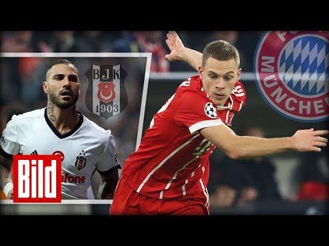 """Bayern München vs Besiktas Istanbul in der Champions League - """"Gut, dass wir 2. geworden sind"""""""